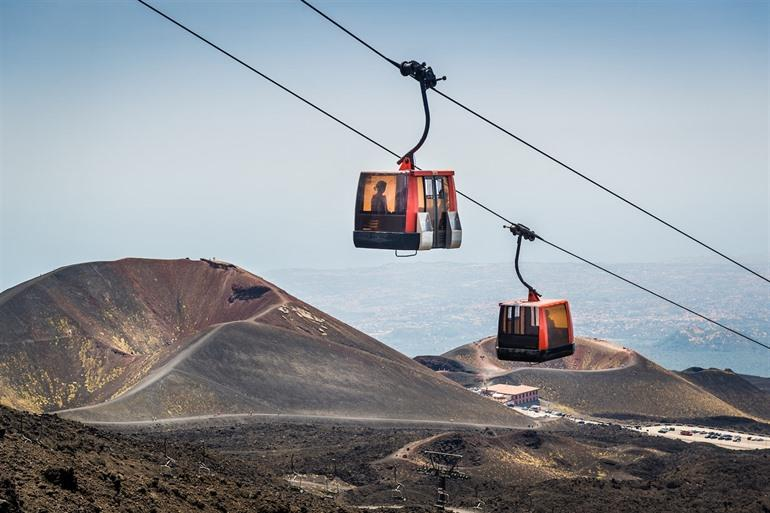 Cable car Etna