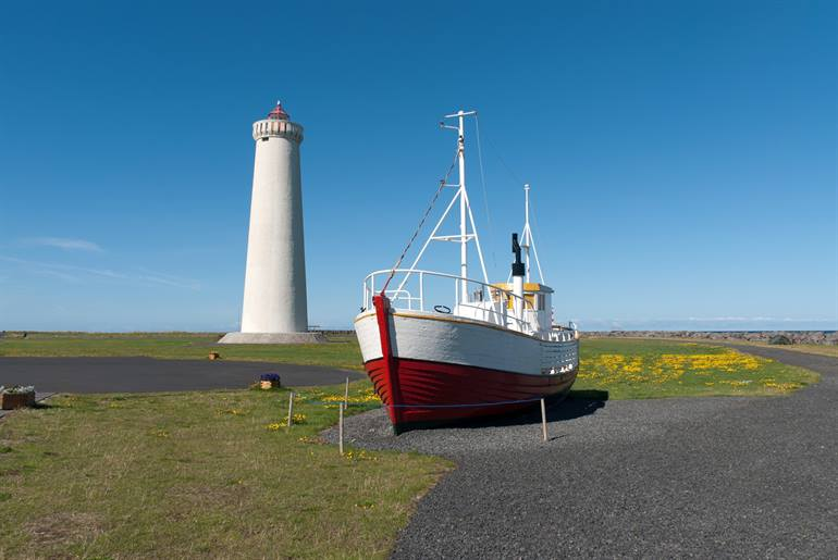 Gardskagi lighthouse