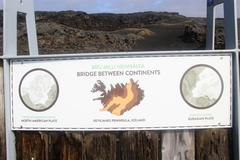 The Bridge of Continents Iceland