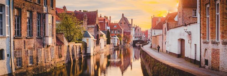 The history of Bruges