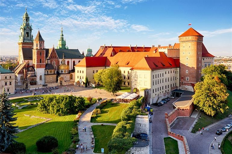 The Wawel Castle Cracow