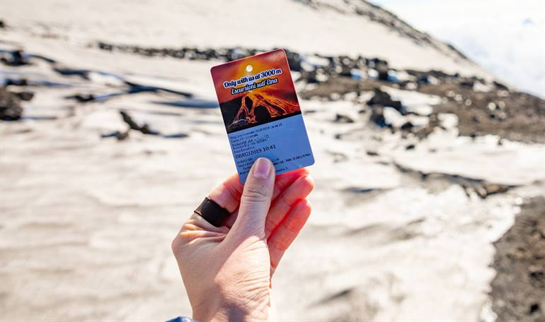 Tourticket excursion Etna, Sicily