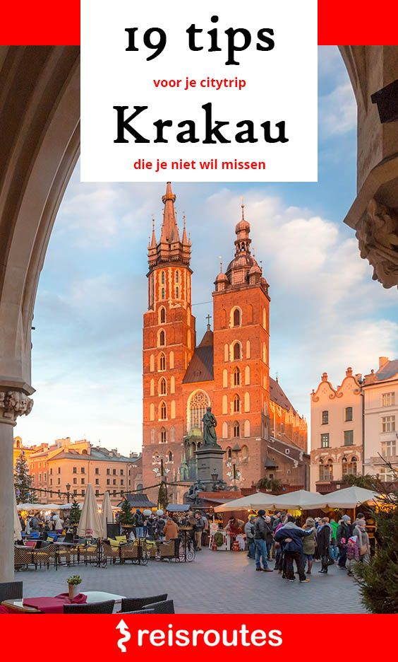 Pinterest 20 x highlights in Cracow: Citytrip travel tips + hidden spots
